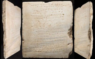 Oldest Known 10 Commandments Tablet Sold at Auction