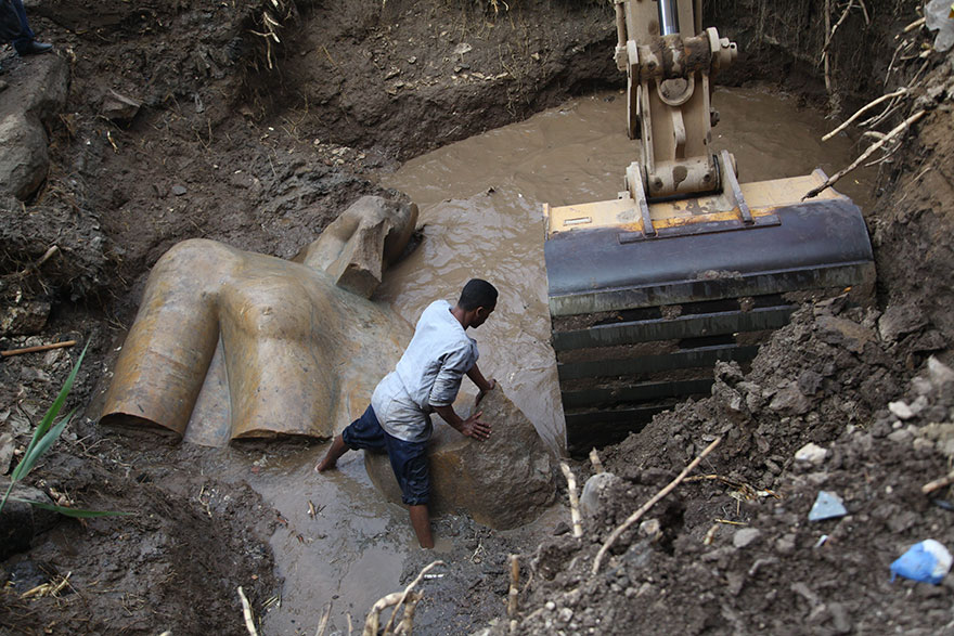 Enormous statue of Ramesses II Found! Further Evidence of Exodus Timing?