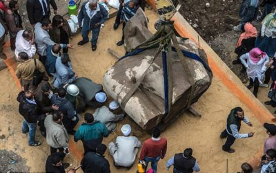 Cairo Statue Not likely to be Ramesses II