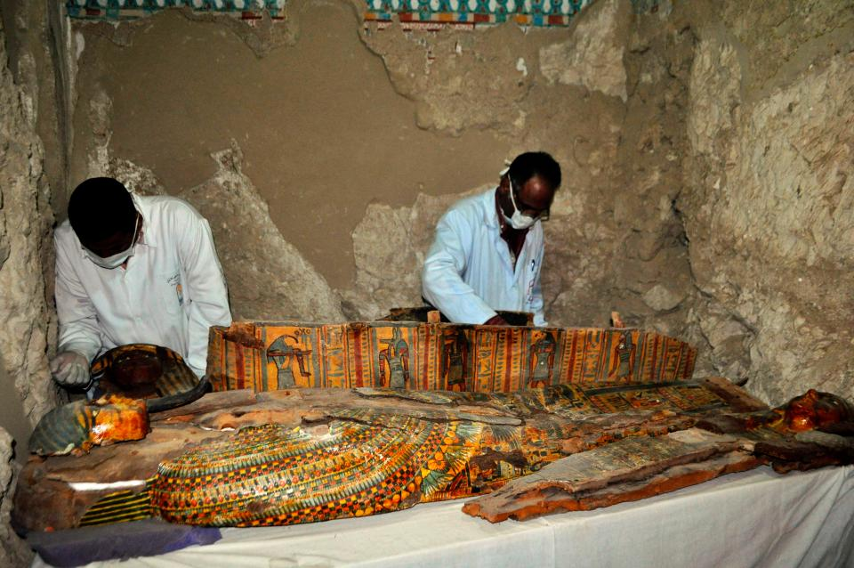 Amazing Mummy Find in Luxor