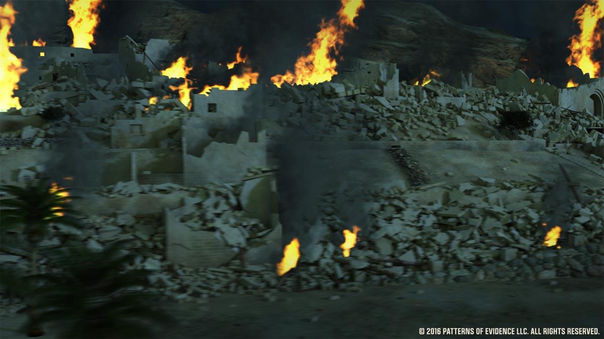 Jericho-burning