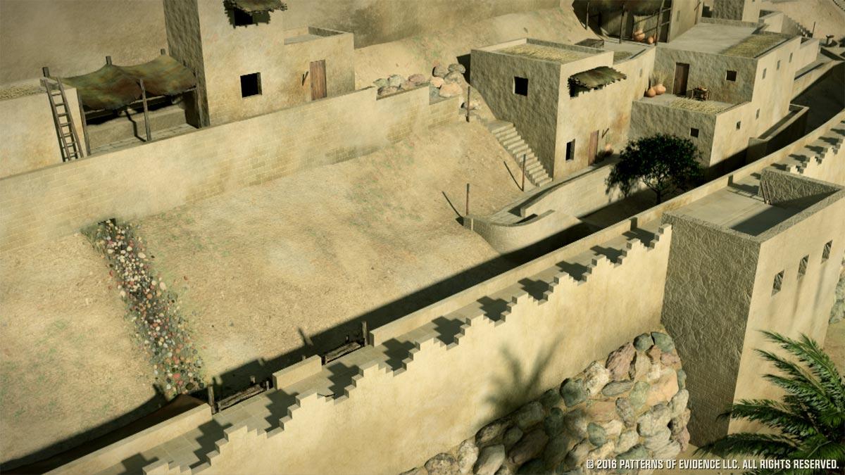 Jerichos-Walls