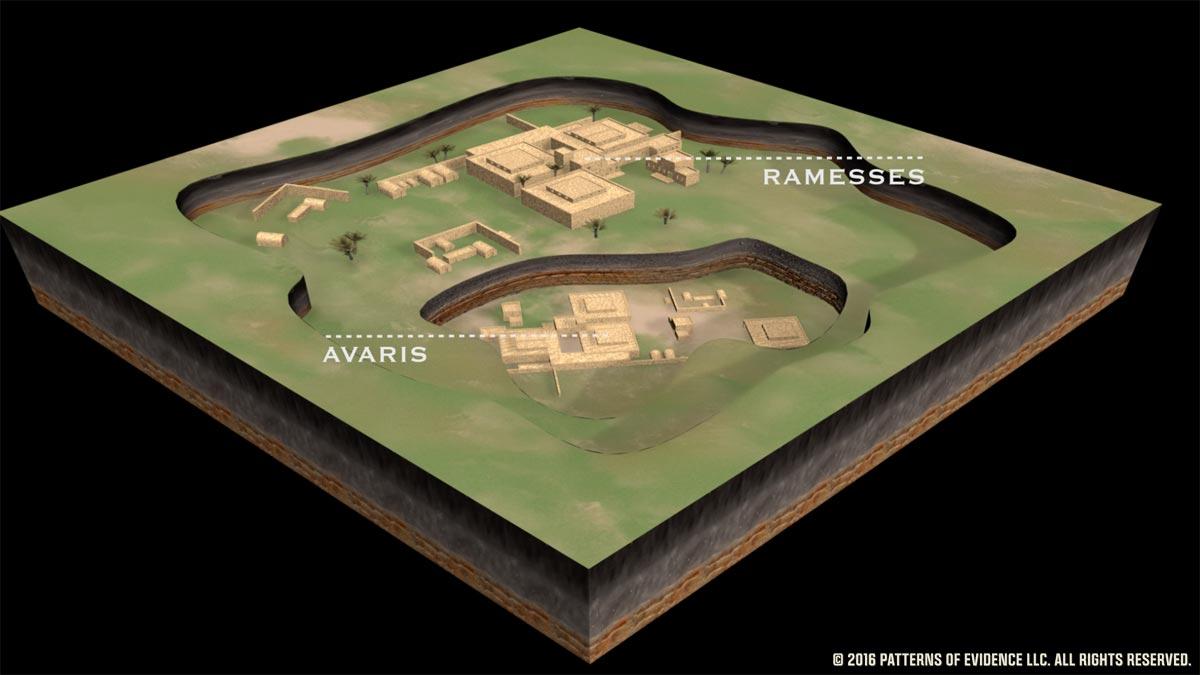 Avaris found under Ramesses