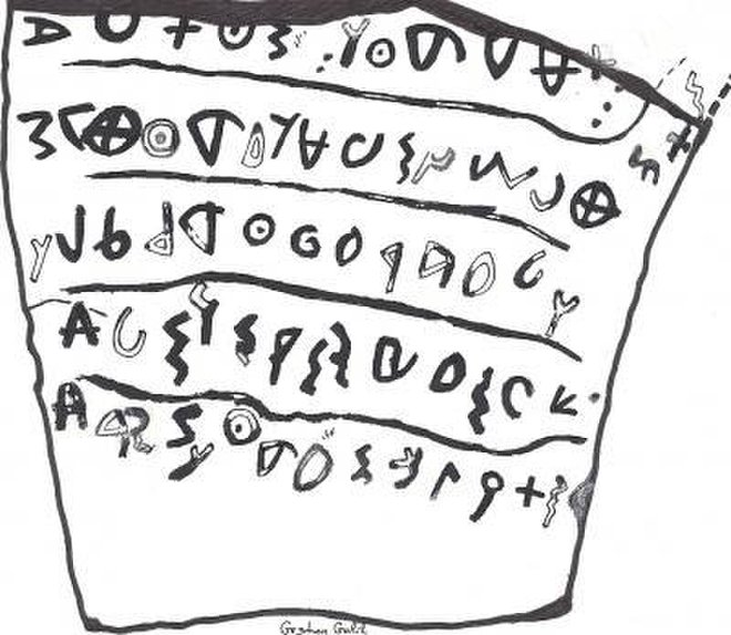 Invisible Letters Discovered on Dead Sea Scroll Fragments - Patterns