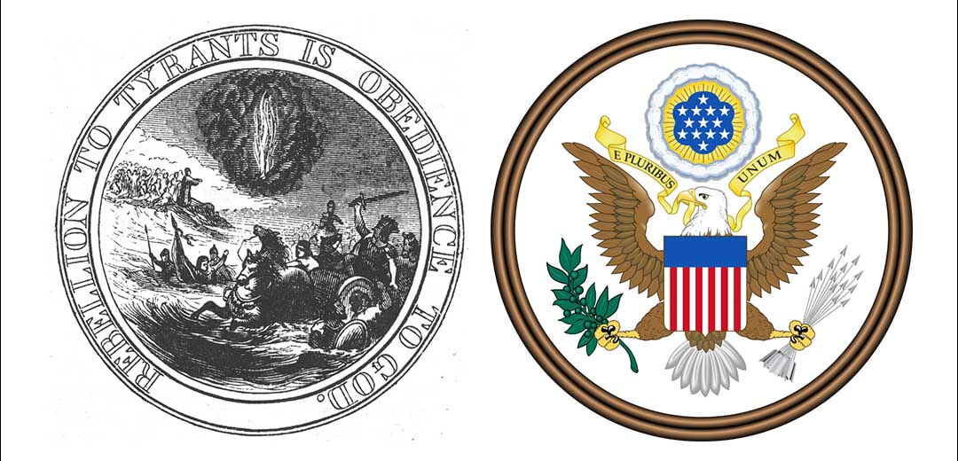 Obedience to God proposal for United States Great Seal