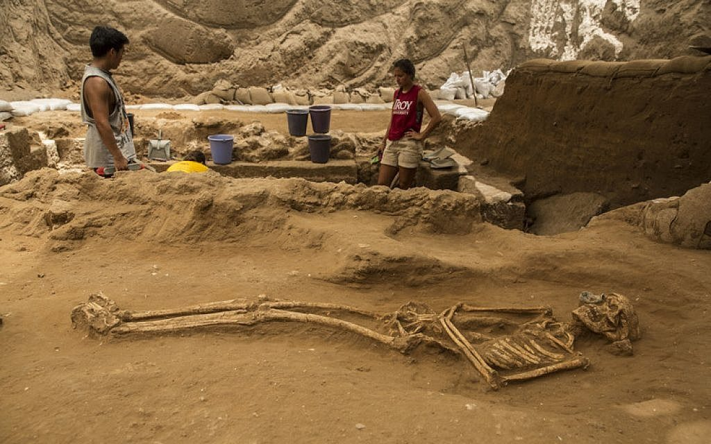 Archeologist uncover a Philistine cemetery from later the Iron Age.