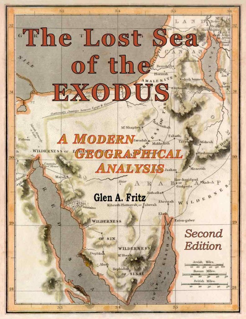 The Lost Sea of the Exodus by Glen Fritz - book cover.