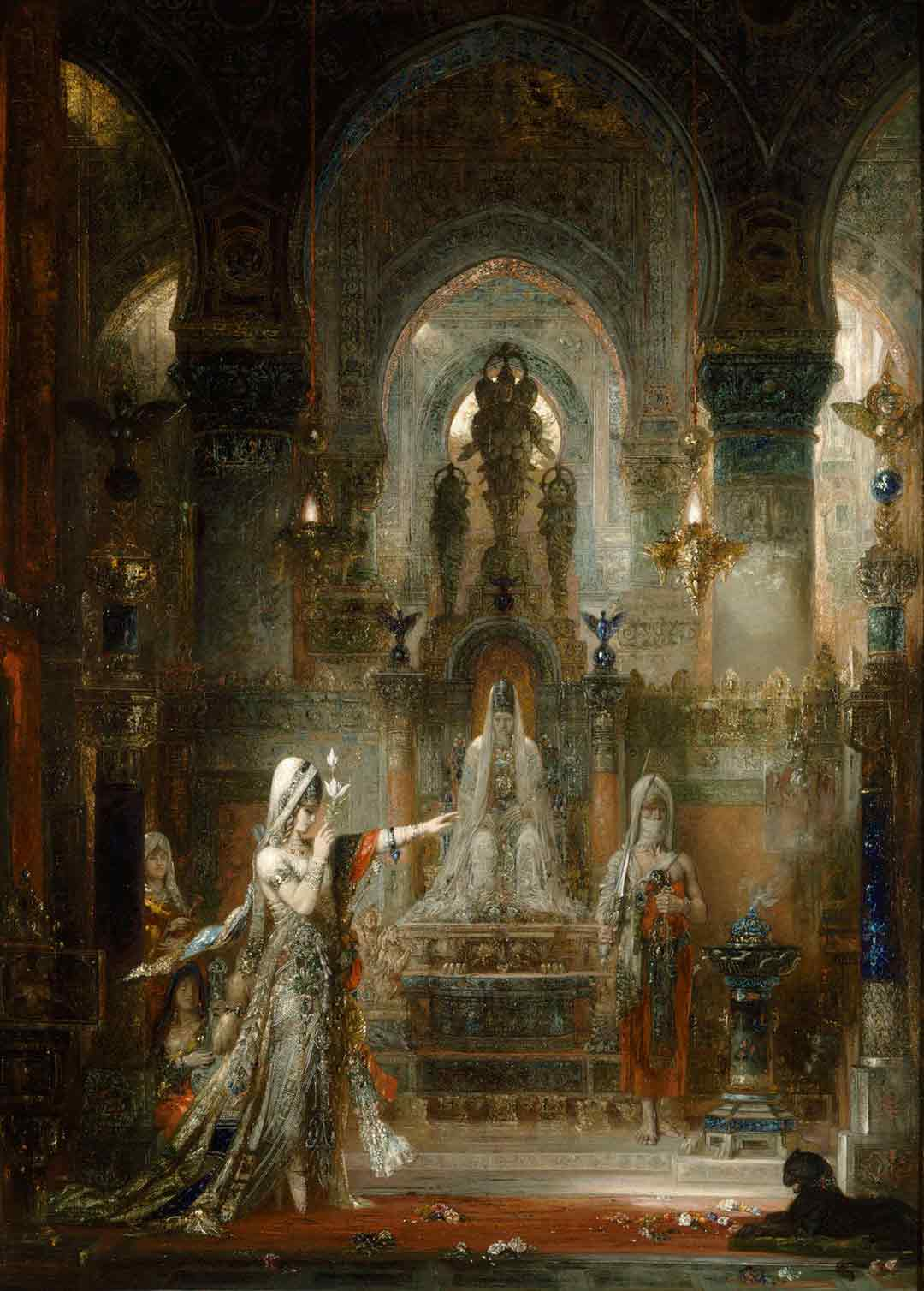 Painting: Salome Dancing before Herod – Gustave Moreau, 1876