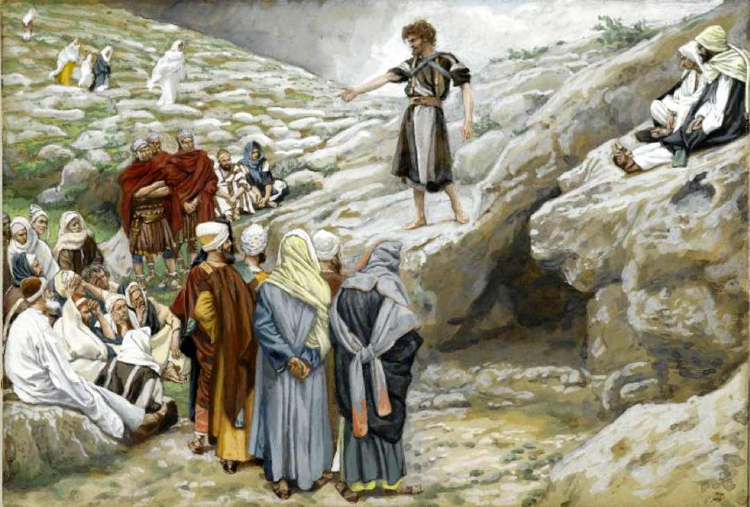 Painting: Brood of Vipers by James J. Tissot 1836-1902