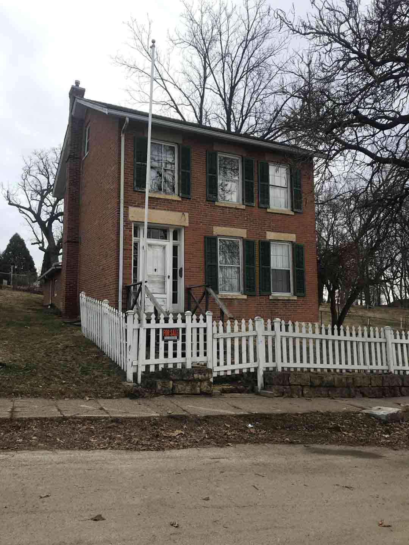 President Grant's pre-Civil War home in Galena, Illinois, USA