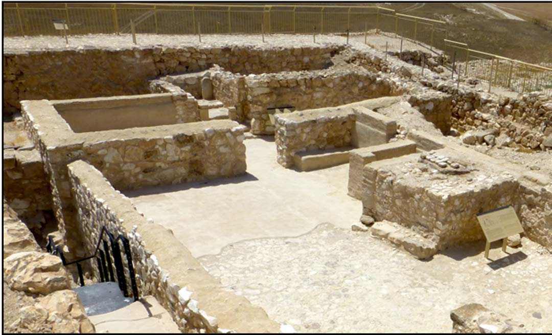 The holy places at Arad uncovered by archaeologists