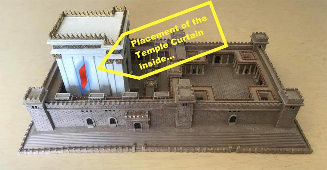 Model of Herod's Temple in Jerusalem